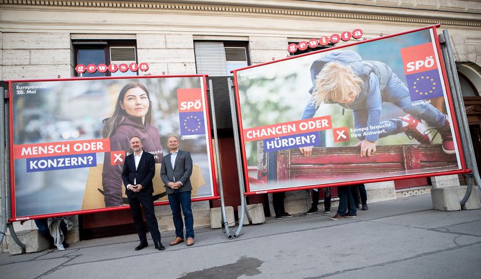 Wahlplakat SP�